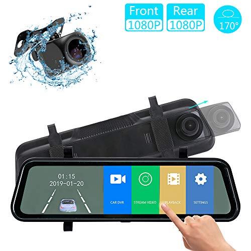 "Wireless IR Rear View Backup Camera Night Vision System 4.3/""  LCD Monitor-UR"