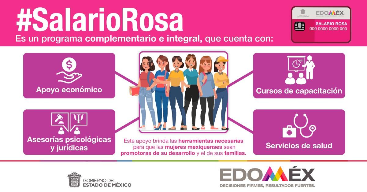 Más de 67 mil mujeres se han capacitado en alguno de los 24 cursos gratuitos a través del #SalarioRosa.