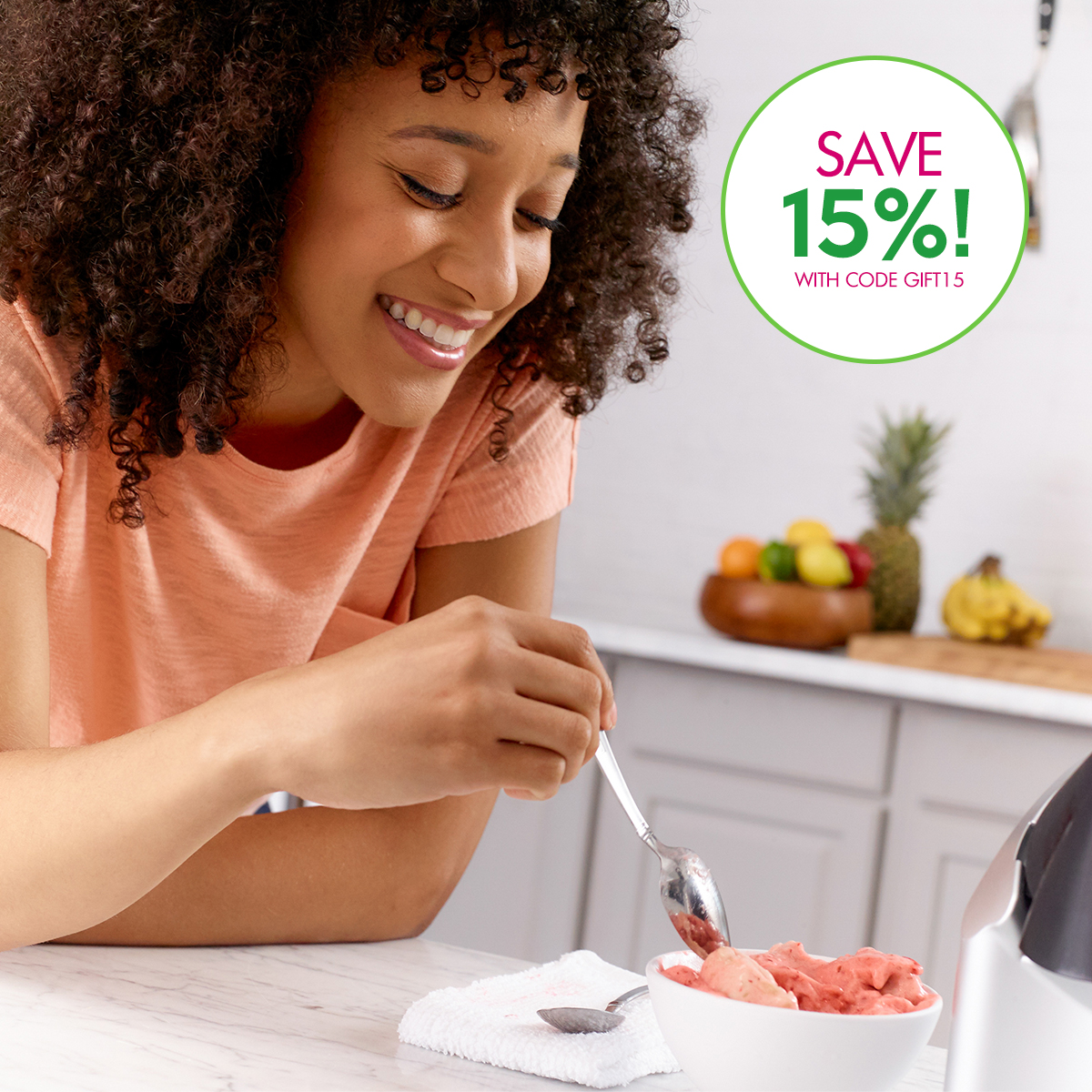 The Perfect Gift? Healthy Dessert! Yonanas transforms FRUIT into delicious soft-serve in seconds! Save 15% now with code GIFT15. Shop now: https://t.co/2mCVCrRUgF https://t.co/tYnrfKi8mY