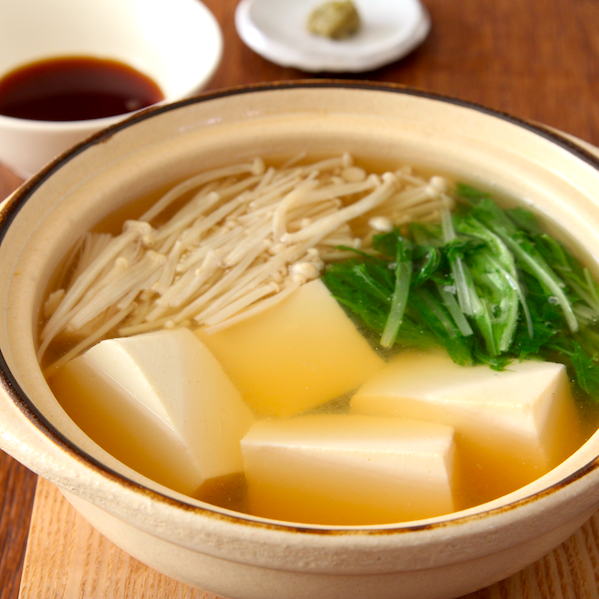 【汁までおいしい湯豆腐】あったまりたい…って時におすすめです
