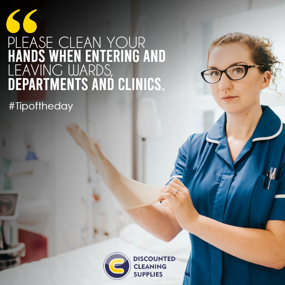 Please clean your hands when entering and leaving wards, departments and clinics.  #cleaningproducts #cleaningchemicals #cleaningequipment #cleaningmachinespic.twitter.com/R4Ngv4YACL