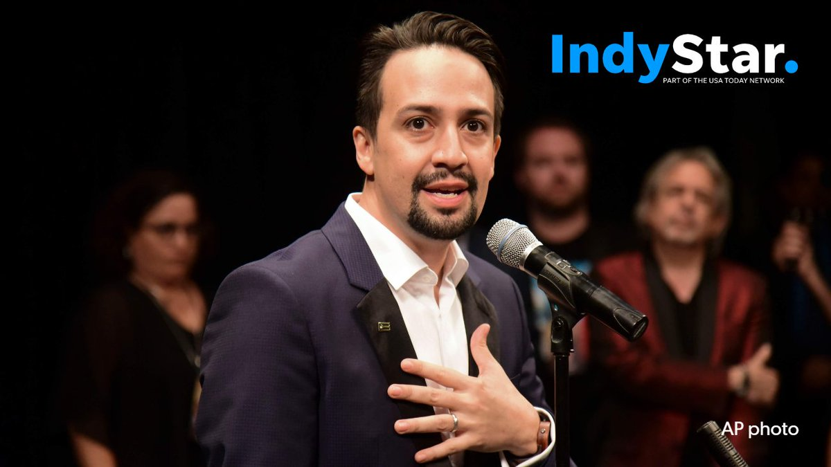 """Indianapolis is a @HamiltonMusical town for the next 20 days.For @IndyStar subscribers, here's how @Lin_Manuel declared his """"hip-hop bona fides"""" within the Broadway sensation: http://bit.ly/2s9WR8L#JayZ #DMX #MobbDeep #BustaRhymes"""