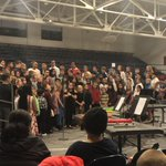 Image for the Tweet beginning: What a great chorus @IWUESRaiders