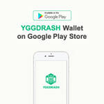 Image for the Tweet beginning: #YGGDRASH_Wallet on #Google #play_store !