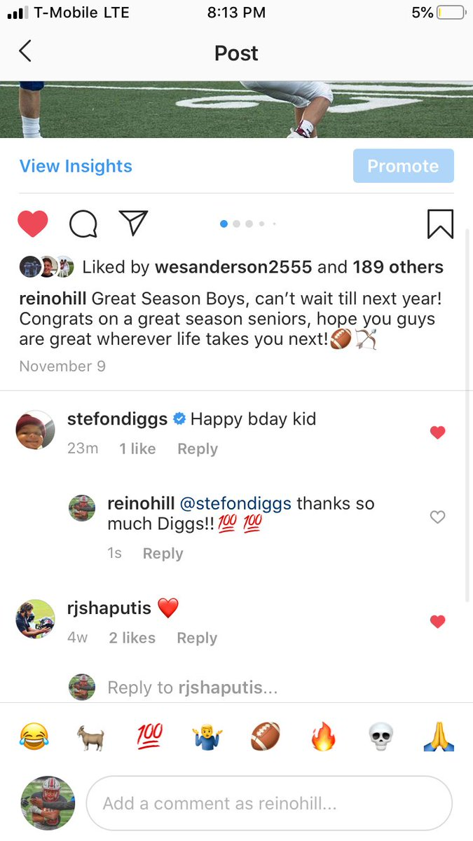 STEFON DIGGS IS THE GOAT - Made my day!