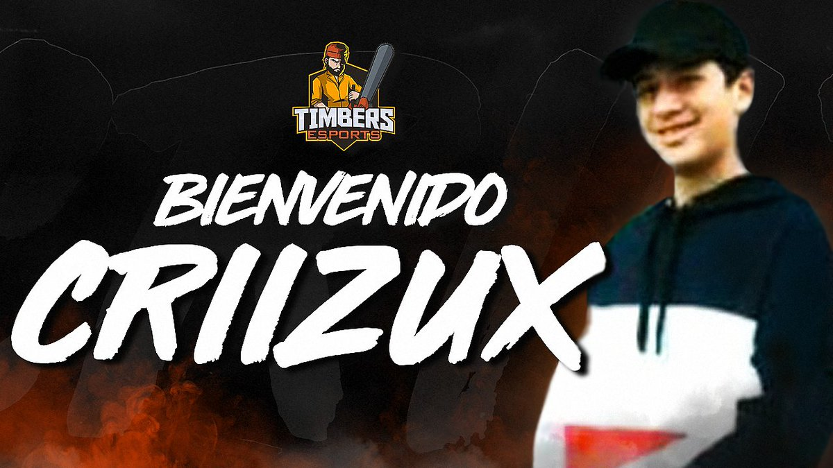 Siguen las bienvenidas y en este caso es para otro excelente jugador 🤲🏼🔥A romperla @criizux 🌲#GoTimbers