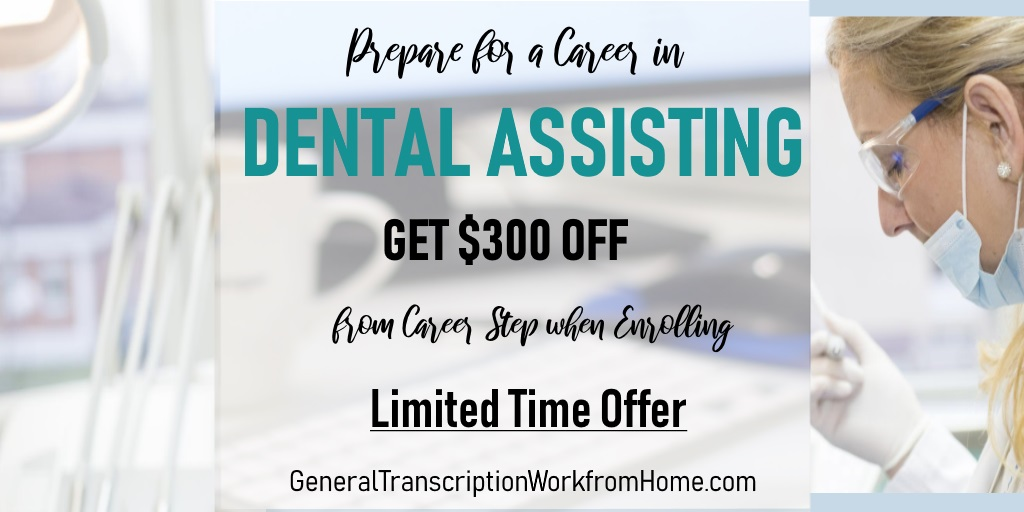 $300 off. Prepare for a Career as a Dental Assistant. Ends by 12/10 https://bit.ly/2TpiOcC #dentalassistant #training #medical #careers #aff