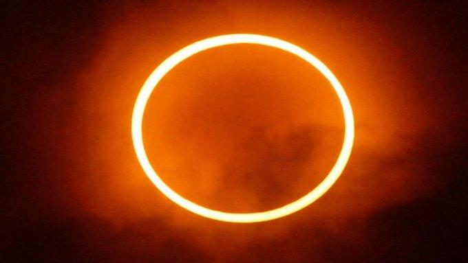 fenomena Gerhana Matahari Cincin