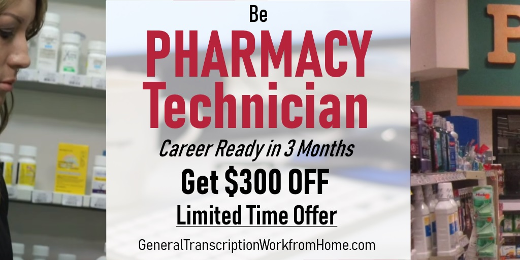 $300 off. Get a New Career! Enroll as Pharmacy Technician. Ends by 12/10 https://bit.ly/2IgcFyd #pharmacyassistant #training #medical #careers #af
