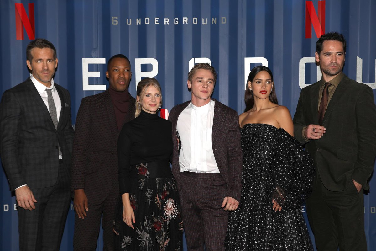 The six at tonight's 6 Underground premiere
