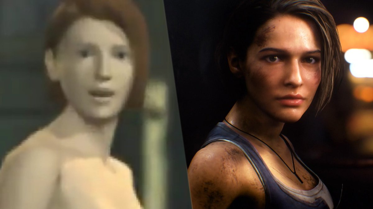 Check out a side-by-side comparison of Resident Evil 3: Nemesis and see just how much has changed in 21 years!