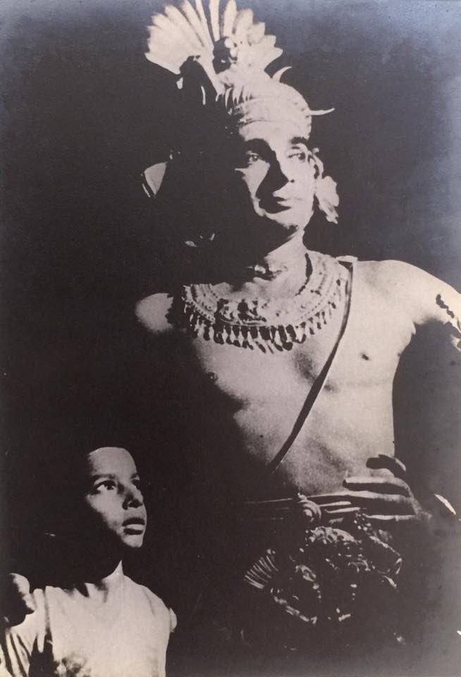 #UdayShankar backstage with #AnandaShankar. #RarePic