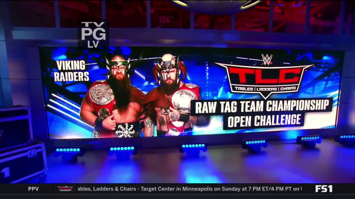BREAKING: The @WWE RAW Tag-Team Champions @Ivar_WWE & @Erik_WWE are issuing an open challenge this Sunday at #WWETLC. #WWEBackstage<br>http://pic.twitter.com/IYhOLcCTAW