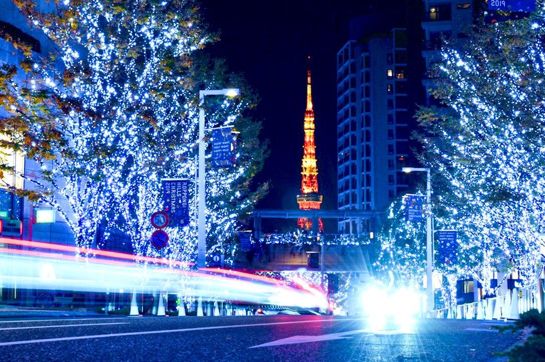 #六本木 #けやき坂 🗼✨ #roppongi #keyakizaka #tokyotower #tokyo #nightview #photography #light_nikon #tokyocameraclub #東京カメラ部 #東京 #東京タワー #夜景 #イルミネーション