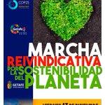 Image for the Tweet beginning: Marcha por la sostenibilidad