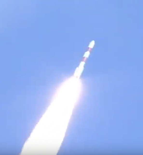 #PSLVC48 carrying #RISAT2BR1 & 9 customer satellites successfully lifts off from Sriharikota