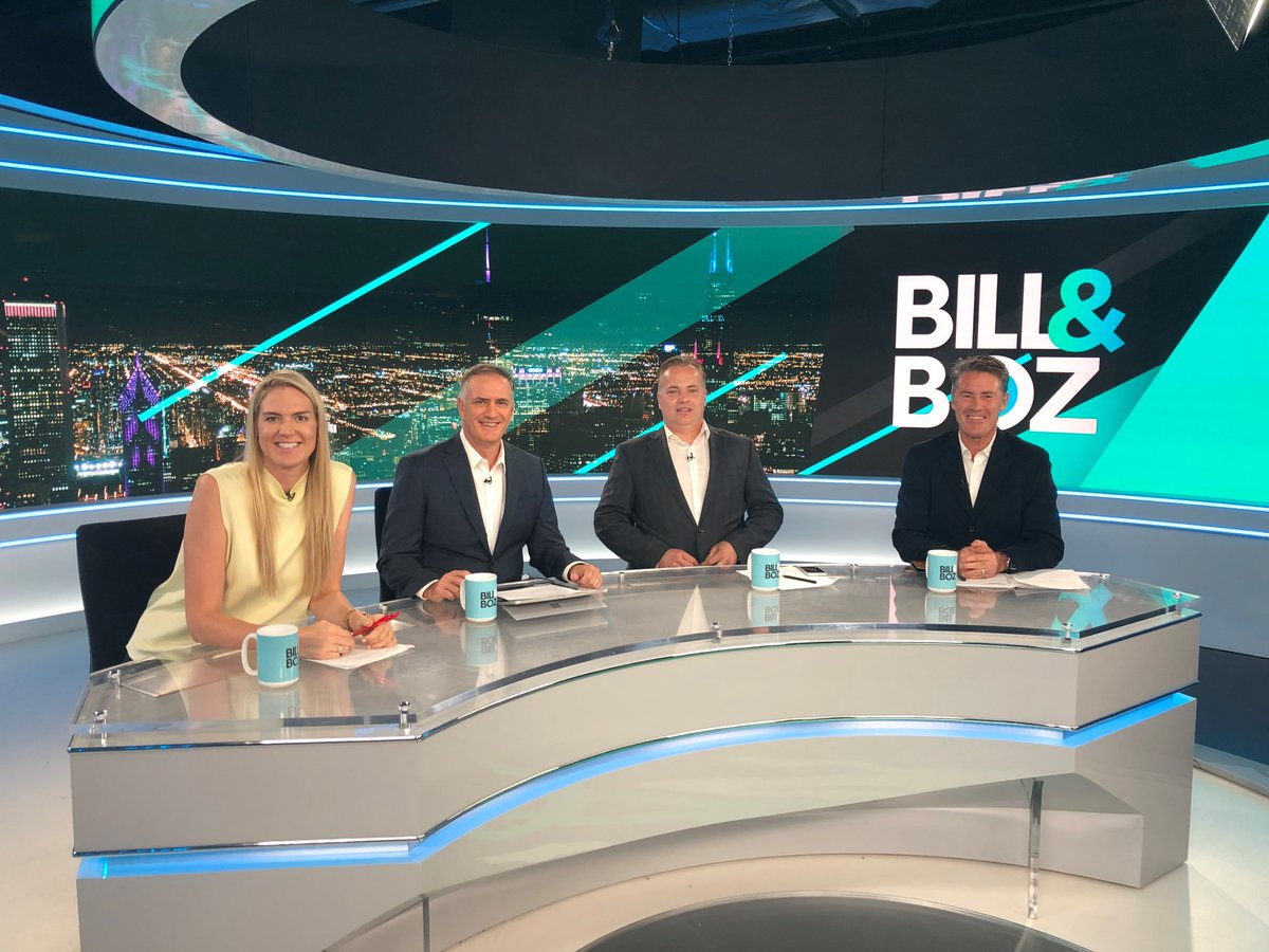 #BillandBoz LIVE now on Channels 500 & 602. @bmrwoods @TheRealBozza @CBassNetball @neilcordy