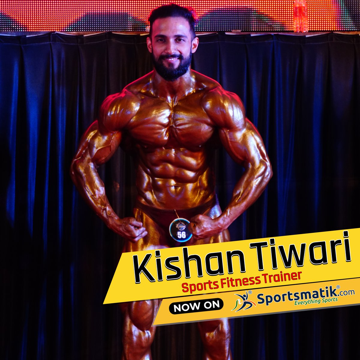 Body-building coach #KishanTiwari who has 15 years of #experience in lifting weights , #won several #Bodybuilding shows, #trained many body-builders, is now available at Sportsmatik. Connect with him by registering with us!https://sportsmatik.com/fitness-trainer/kishantiwari…