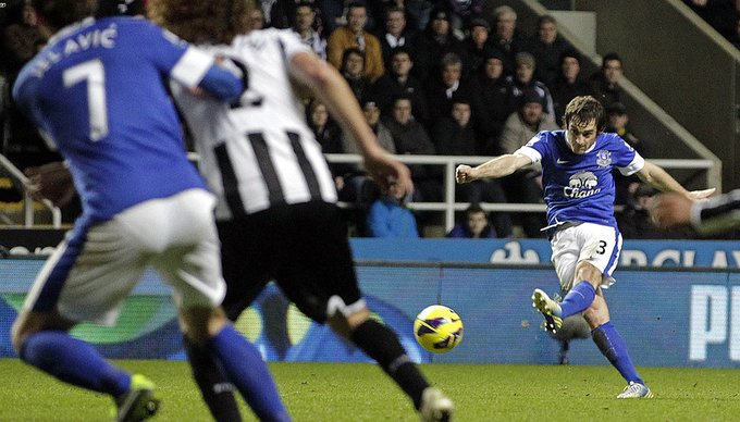 Happy 35th birthday Leighton Baines! What\s your favourite Bainesy goal?