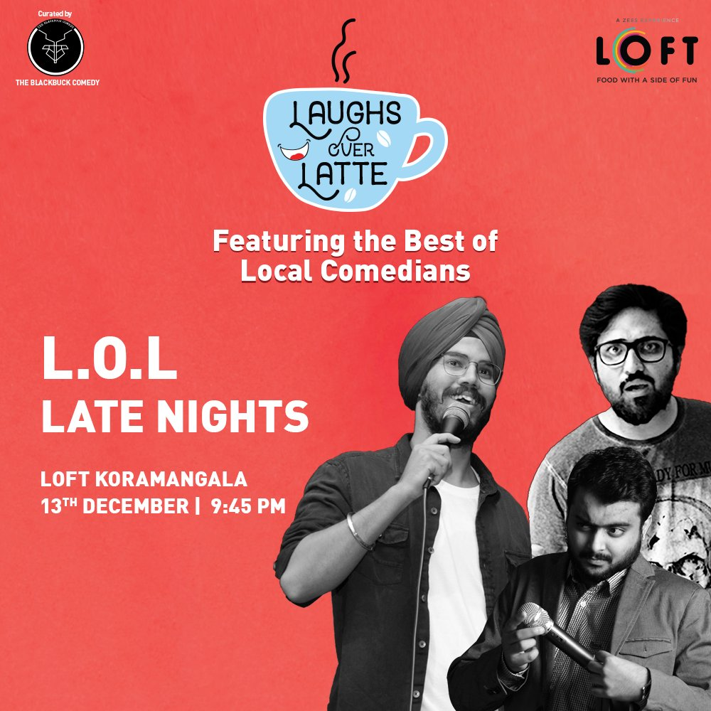 Get your weekly dose of laughs and giggles with the best local comedians only at LOFT! Booking Link:  http://bit.ly/36uu3GV    #loftoffun  #Bangalore  #Comedy