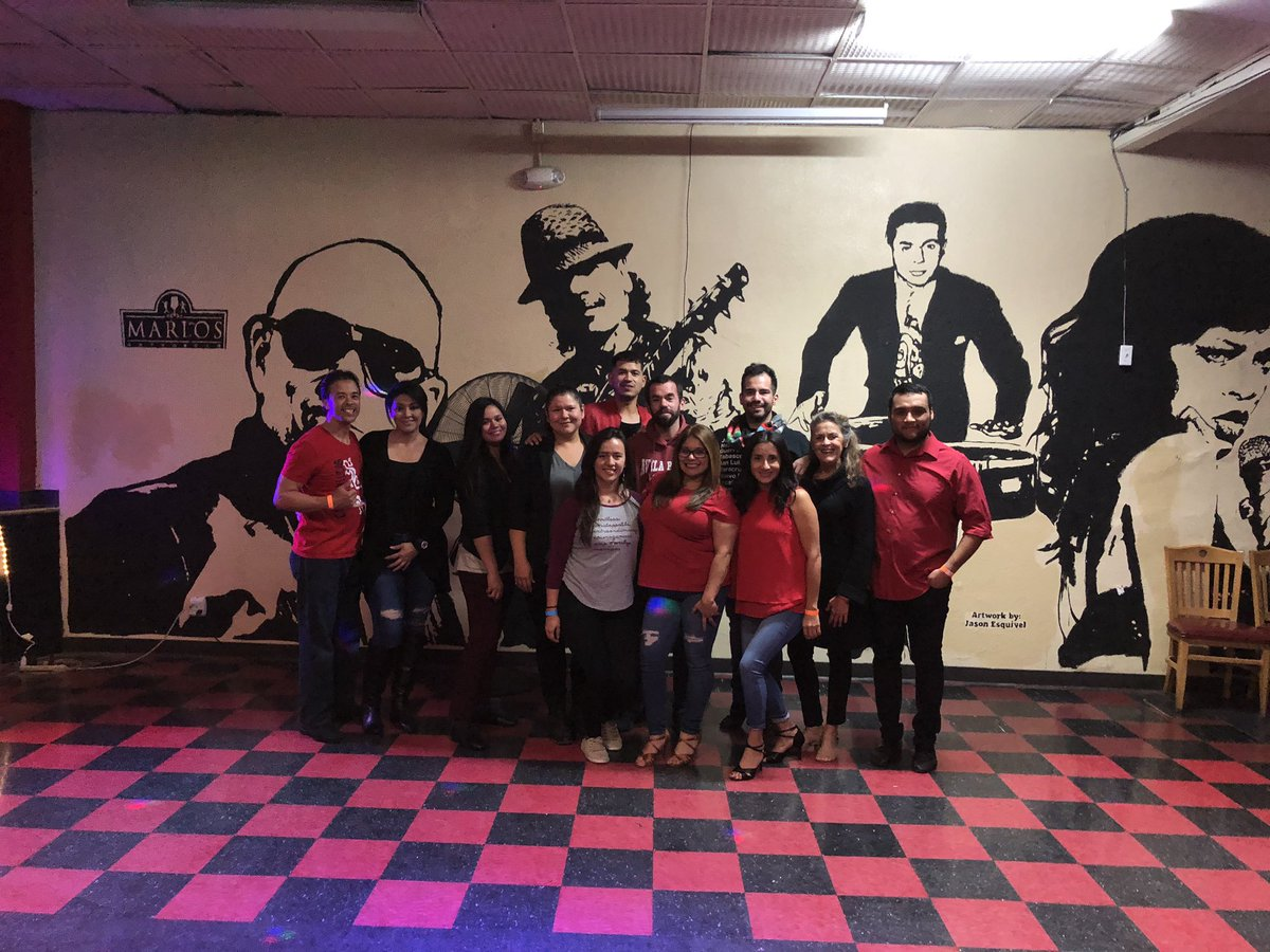 For the love of #Dance ! Teaching session number TWO HUNDRED EIGHTY-FOUR this year! Intermediate #Bachata . Marlos Club & Mexican Restaurant. Fresno, CA. 04-December-2019