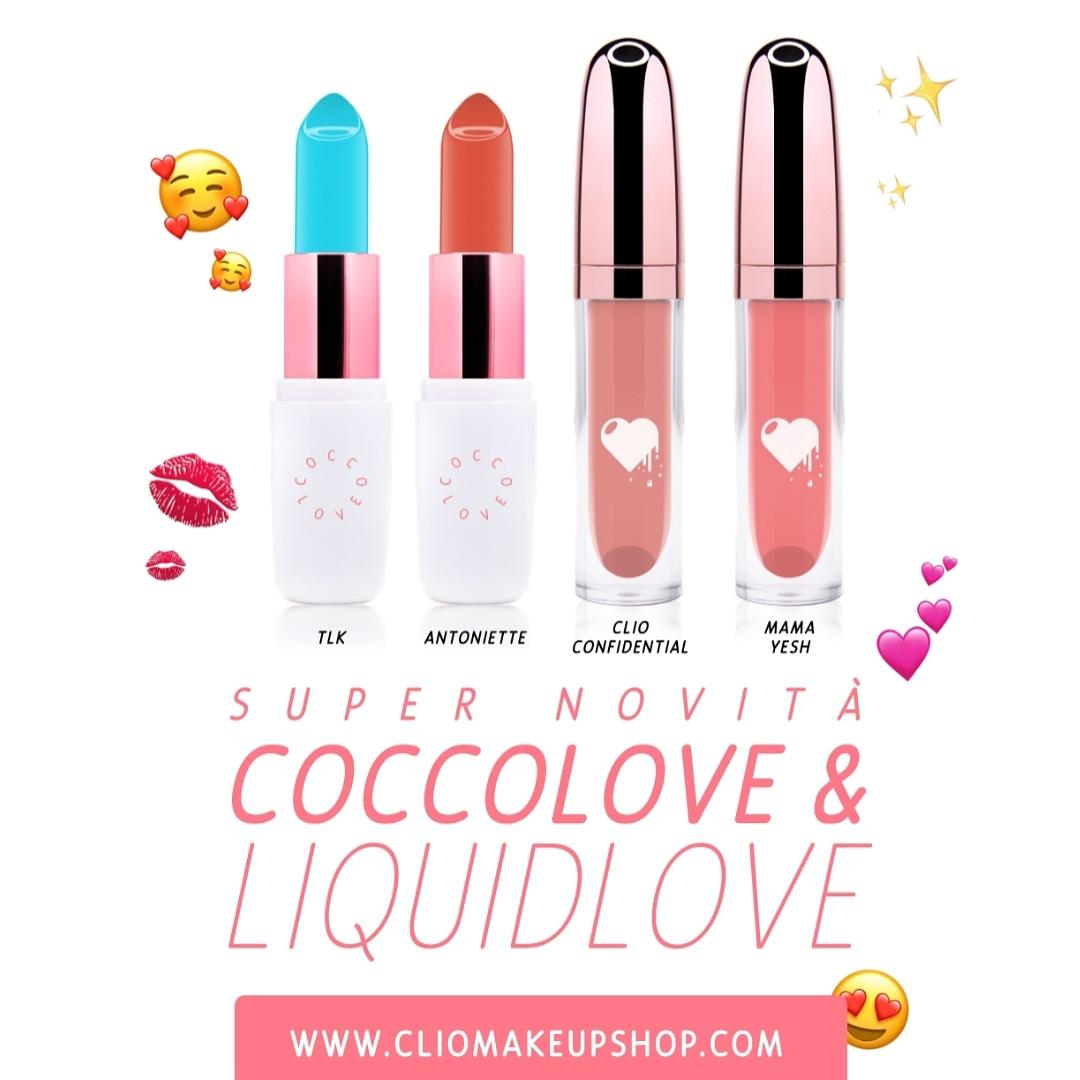 Novità @ClioMakeUp !! Nuovi #coccolove e #liquidlove #BloggersTribe #blogginggals #RTingbloggers #ilovemakeup #makeupfanatic #makeuplook #FierceBloggers #fabbloggersRT #bloggers #paradiseRT #globalblogRT#thebloggershub #femalbloggerI #grlpowrpic.twitter.com/M5E5ZFyMoo