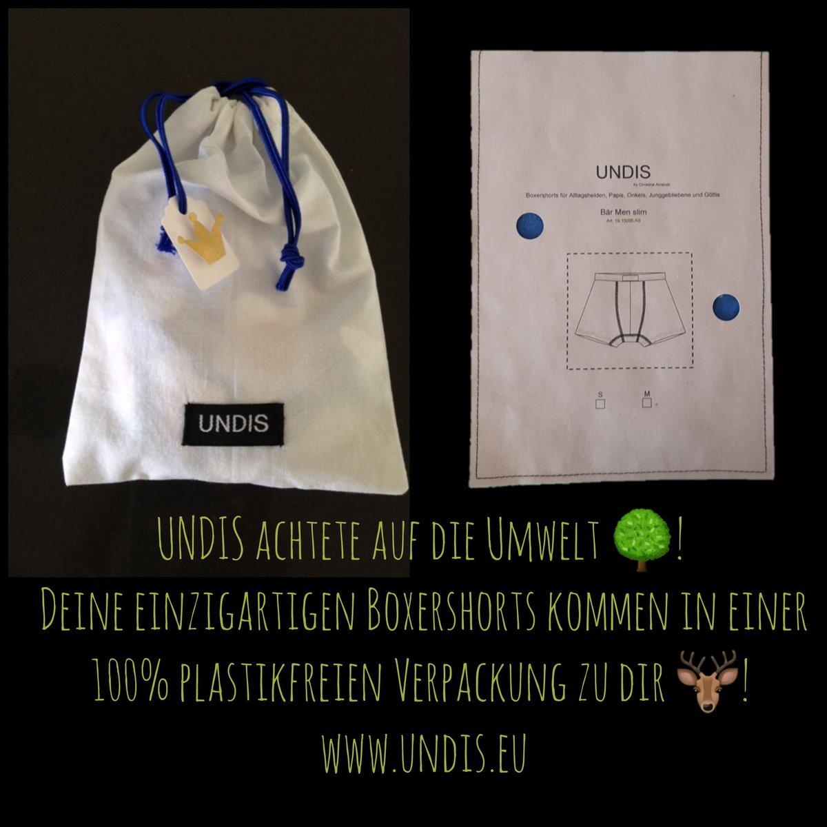 Die Umwelt liegt uns am Herzen🌳❤! Aus diesem Grund verzichten wir auf Plastik bei unseren Verpackungen 🦌! http://www.undis.eu #hamburg #schweiz #zurich #basel #bern #swissmade #deutschland #österreich #nürnberg #augsburg #tessin #geneva #aarau #erfurt #leipzig #wien