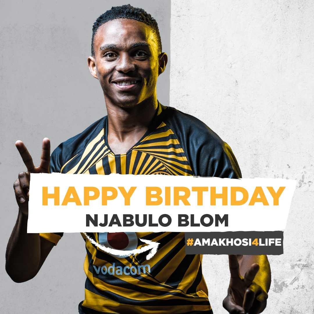 Happy Birthday Njabulo. We wish you many more #BlomsBirthday #Amakhosi4Life
