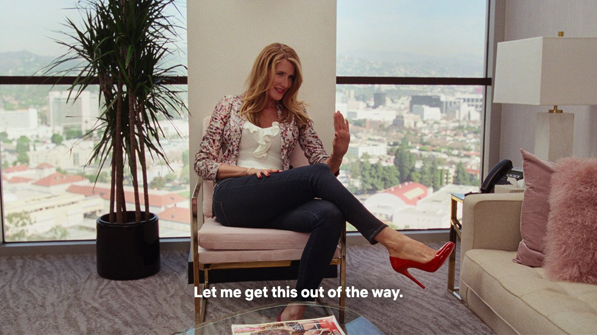 I will not not be talking about @LauraDern's performance in @MarriageStory every single day for the rest of the year