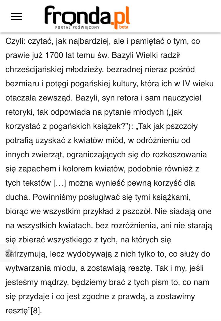 """Neopoganizm #Tokarczuk - czyli """"jak korzystać z pogańskich książek?"""" - ks. prof. Jerzy Szymik  https://m.fronda.pl/a/czy-i-jak-czytac-tokarczuk-wyjasnia-ks-jerzy-szymik,137433.html…pic.twitter.com/IqHuZDP9li"""