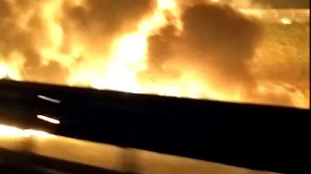 Autocisterna a fuoco in autostrada a Padova: ecco ...
