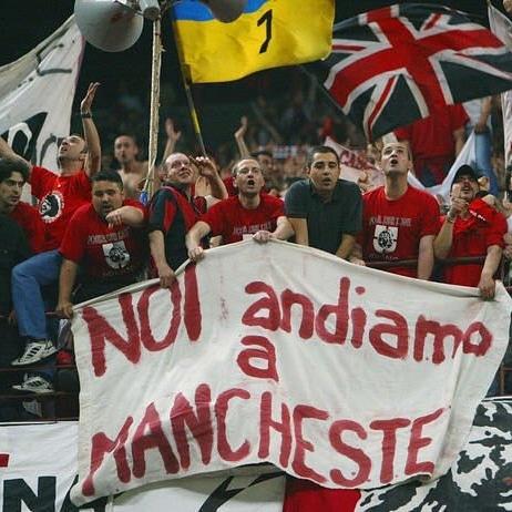 Non c'è nulla di certo a questo mondo, tranne l'Inter fuori dalla Champions. #MilanoSiamoNoi