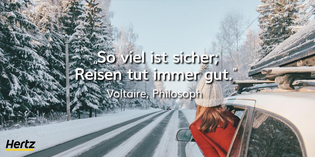 Wir stimmen Voltaire voll und ganz zu. 🥰 #TravelQuote #Hertz https://t.co/t2lPk2WT5F
