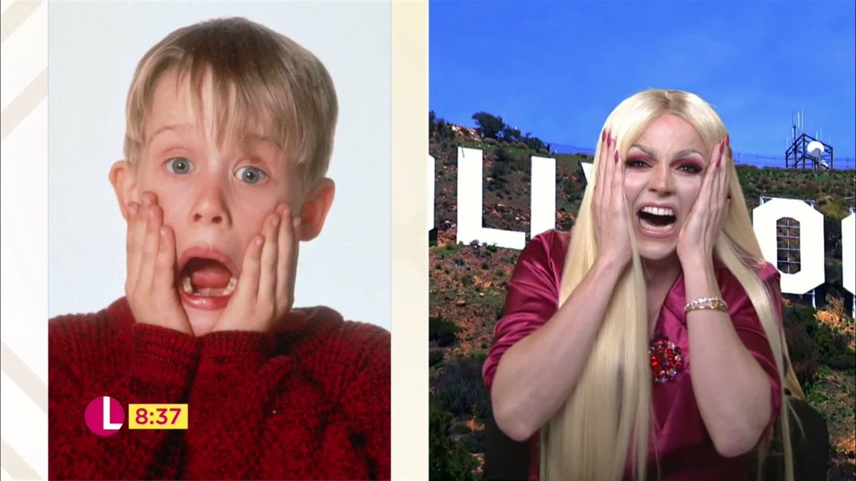 The only Home Alone remake we want to see this Christmas... @courtneyact #Lorraine