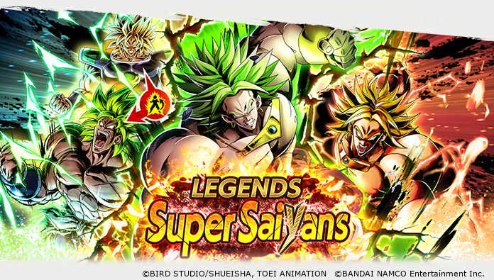 [Legends Super Saiyans Vol.3 Is Live!] Legendary Super Saiyan Broly, Super Saiyan Broly and more return! Consecutive Summons guarantee a SPARKING character and a freebie Multi-Z Power! Use Multi-Z Power to Limit Break a Super Saiyan and power up your party! #DBLegends #Dragonball