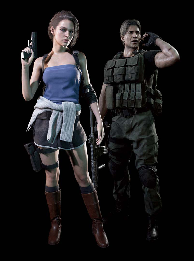 Robert On Twitter Resident Evil 3 Remake Classic Costume