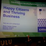 Image for the Tweet beginning: Happy Citizensand Thriving Business -