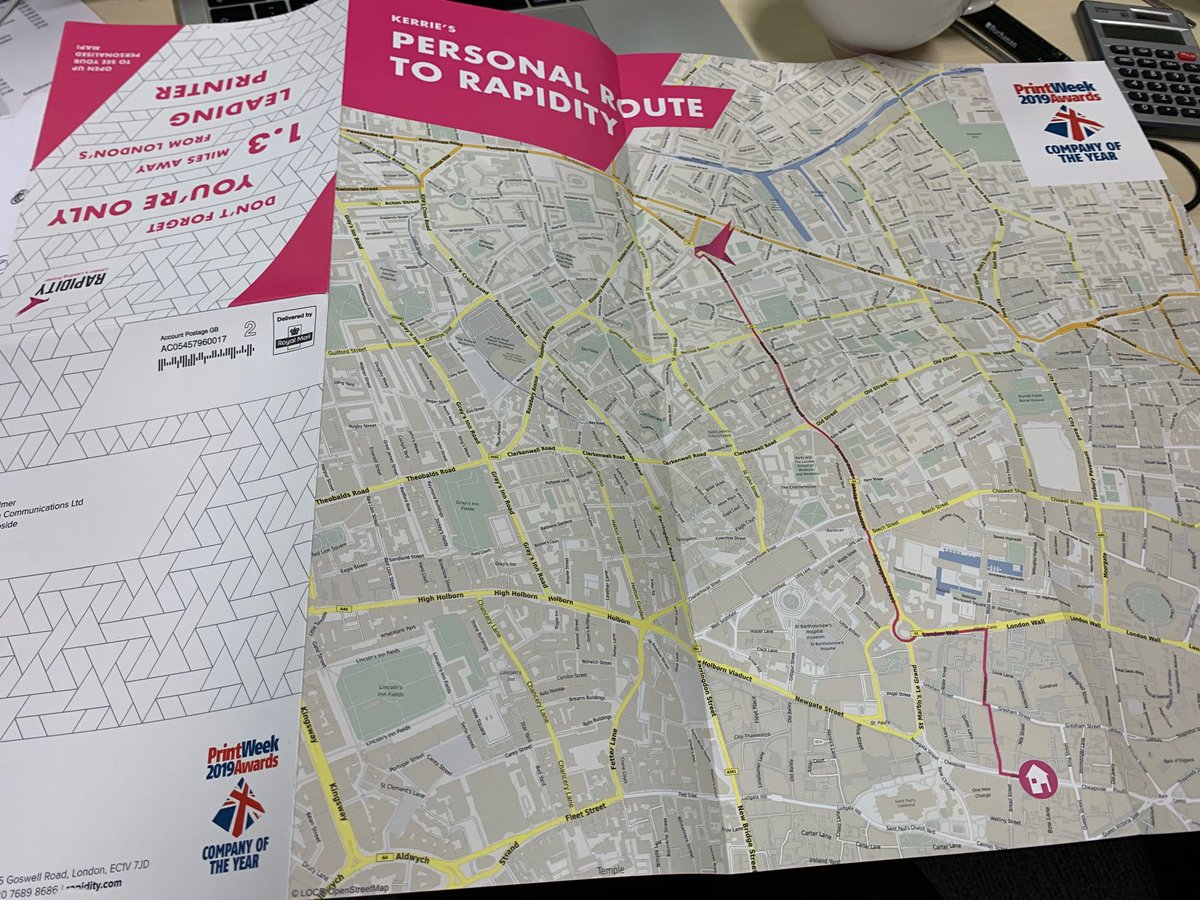 Is that another great example of @locrmaps we spy? Nice to see @rapidity Using GeoMarketing to make Direct Mail campaigns more relevant, personal and engaging.