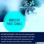 Image for the Tweet beginning: NO SCHOOL ON DECEMBER 11,