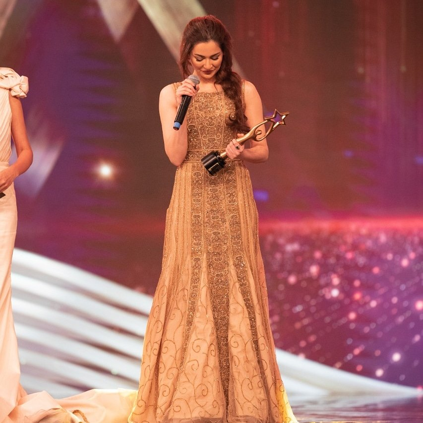 IPPA Star of the Year Female Award was awarded to @realhaniahehe  #Lollywoodfilmindustry pic.twitter.com/Qn2GC33TVq