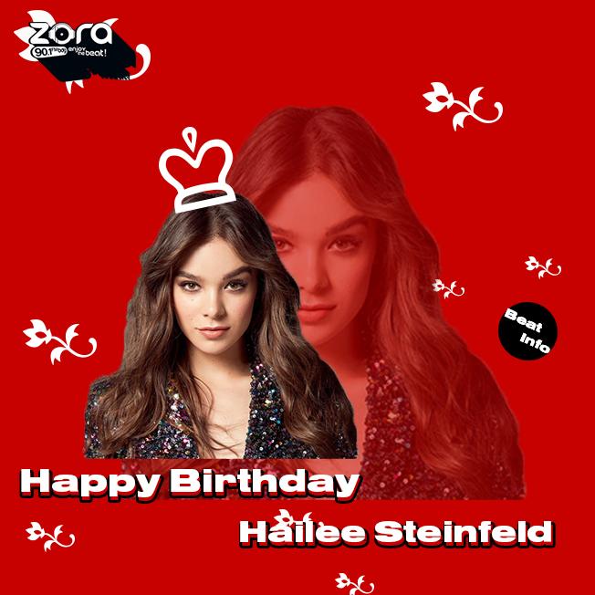 Happy Birthday buat Hailee Steinfeld yang ke 23 thn. Do\a apa nih yang mau kamu ucapin zoners?