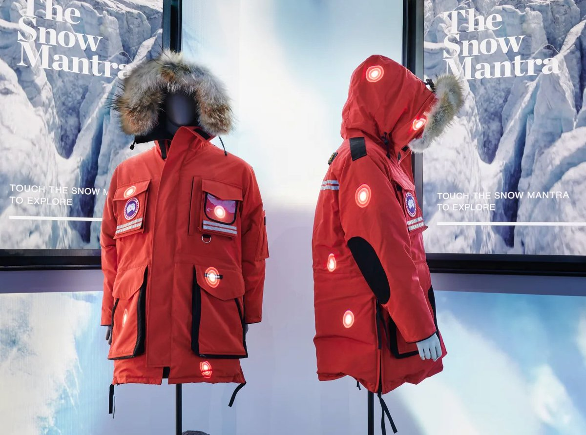 @canadagoose has launched a retail concept in Toronto that comes complete with snow, but no inventory:  https:// fashionista.com/2019/12/canada -goose-gen-z-the-journey   …  #RetailTech #ExperientialMarketing <br>http://pic.twitter.com/hqqqg6amPq
