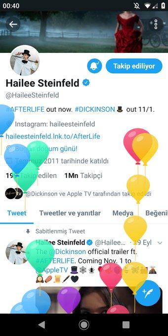 Happy Birthday Nice Happy Birthday I Love You Happy New Year. Hailee Steinfeld