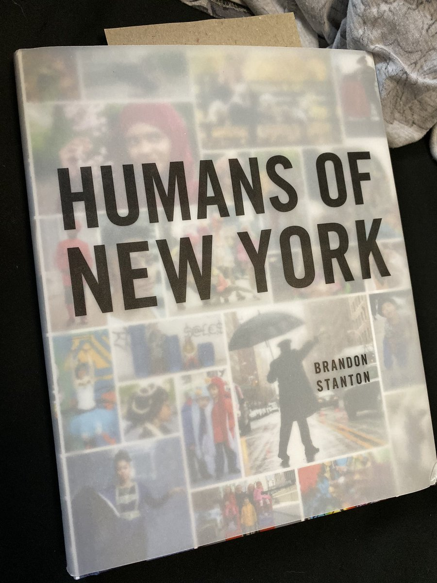 Pure #inspiration in one #book for #characters #hiddenstories and pure #wonder #newyork #humansofnewyork https://t.co/9nABRLSSqA