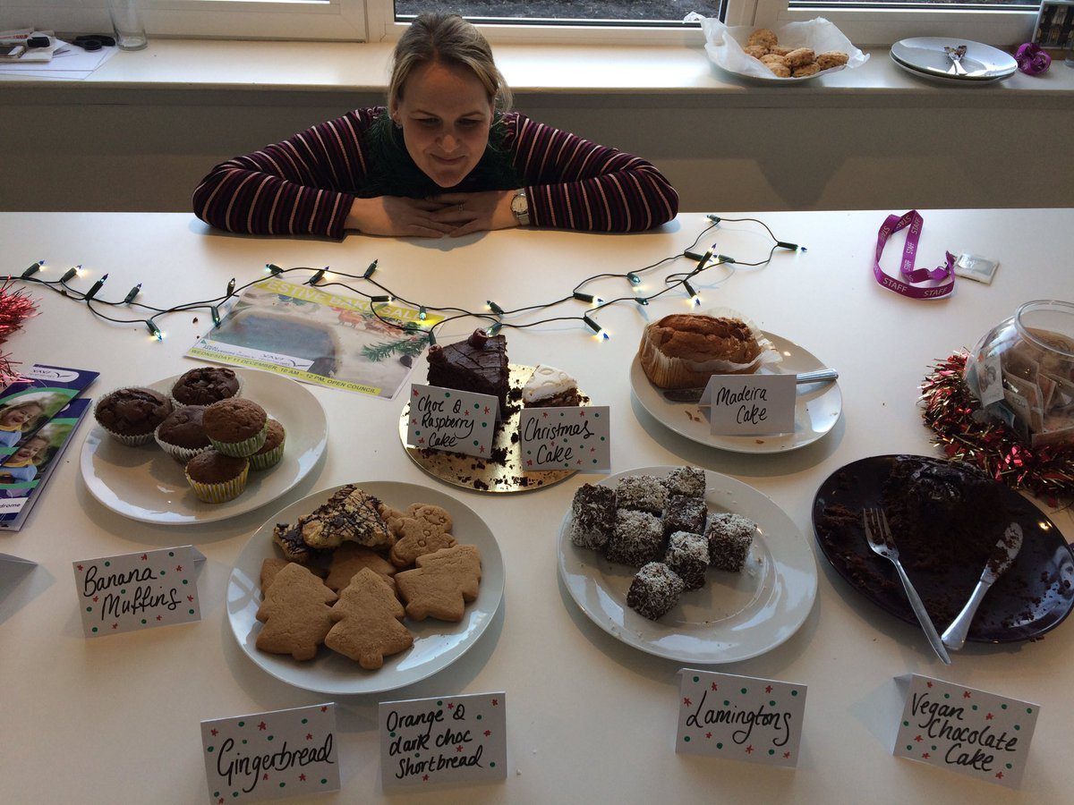 ...Aaand that's it for the Festive Bake Sale!   Thank you to our fantastic staff for the cakes and colleagues in @LGAcomms for the donations, helping us raise £290 toward @ReverseRett!   You can read about their amazing work here: https://t.co/aLqzmB98g2   #CSR #BakeSale   🍪🎅❄️