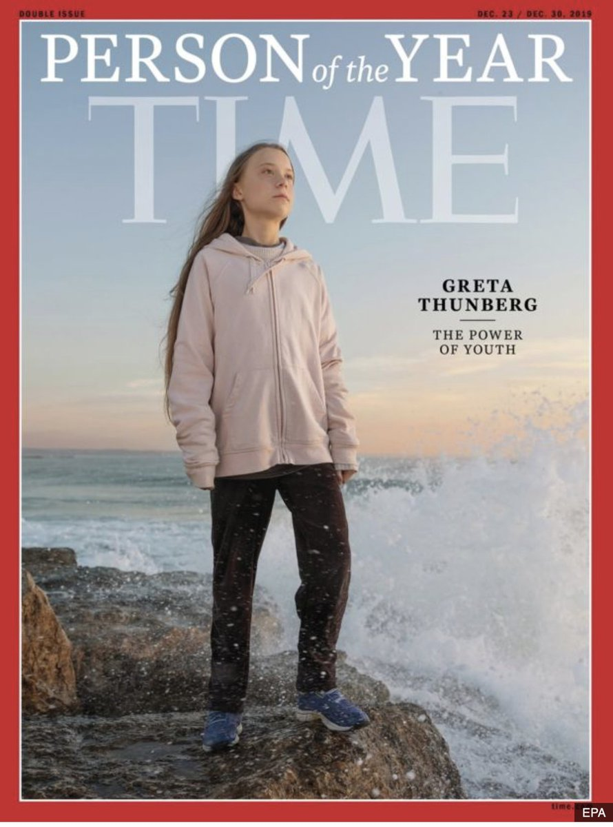 Congratulations @GretaThunberg! Hopefully you are the shape of things to come. https://www.bbc.com/news/world-europe-50740324…