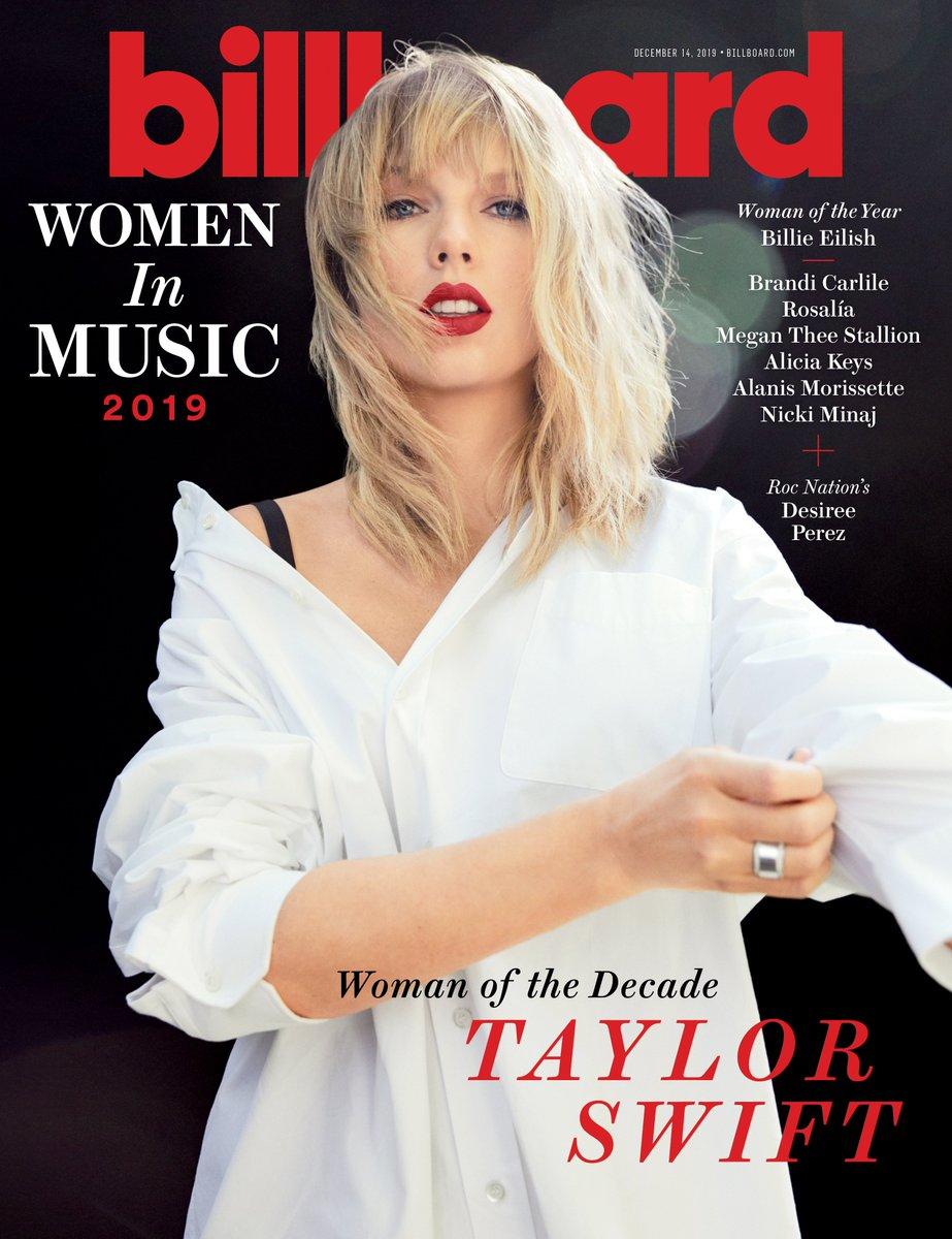 "Billboard Woman of the Decade @taylorswift13: ""I do want my music to live on"" https://blbrd.cm/UrjgWU #BBWomenInMusic"