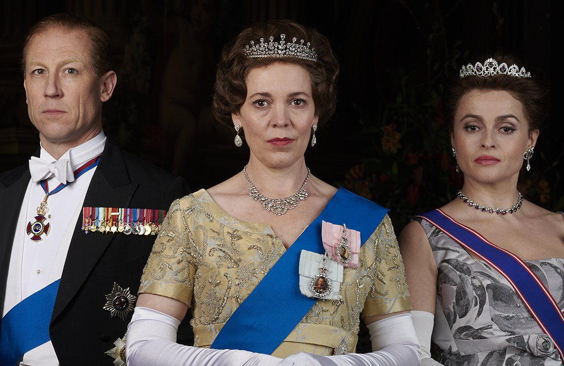 All hail! #TheCrown has been nominated for Best Ensemble at the #SAGAwards and Olivia Colman and Helena Bonham Carter have both been nominated for Best Female Actor in a Drama Series