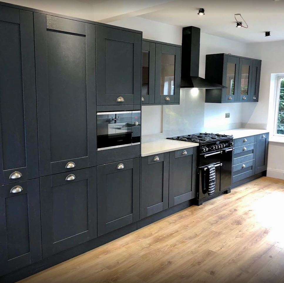 Benchmarx Kitchens Joinery On Twitter Beautiful Sherwood Midnight Blue Kitchen With A White Quartz Worktop Simple Yet Extremely Elegant At The Same Time Fitted By Neil Brett At Alpha Building Services