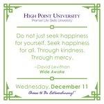 [CALENDAR] #DailyMotivation from David Levithan. #HPU365